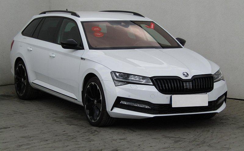 Škoda Superb III 2.0TDi SportLine