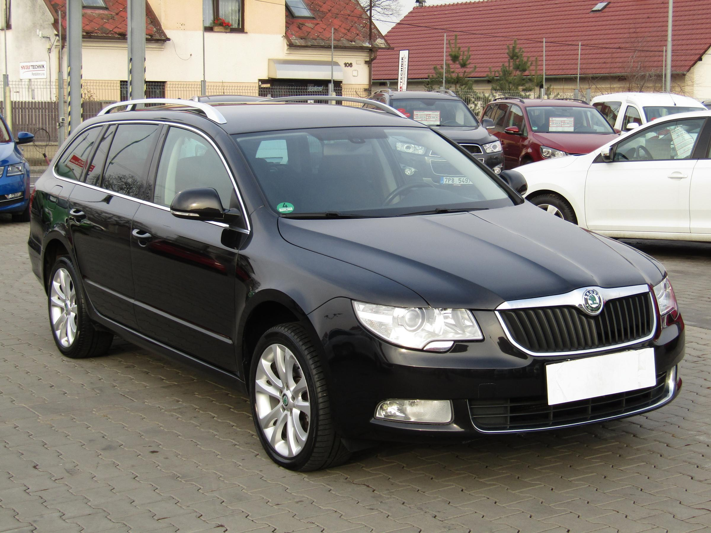Škoda Superb II, 2011